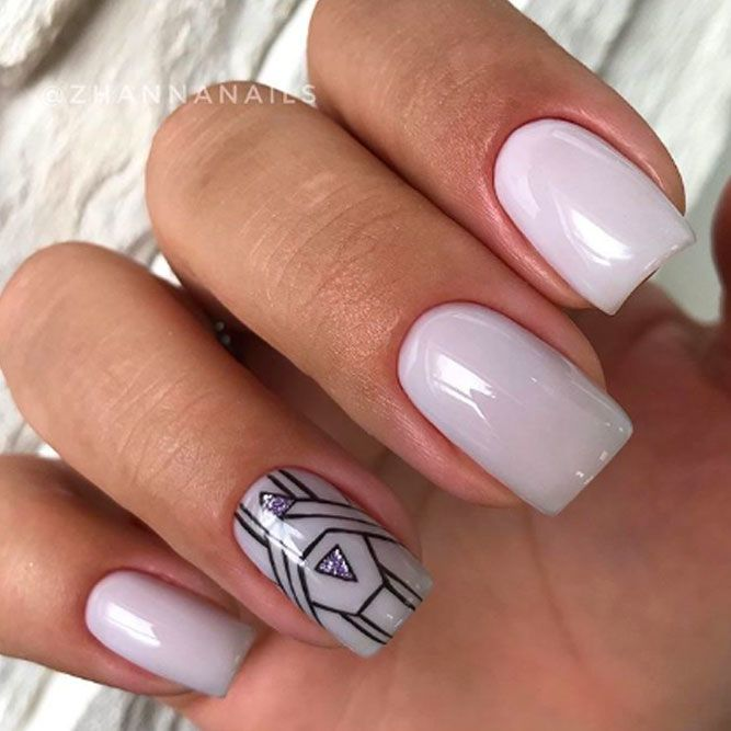 Geometry Design On Nails