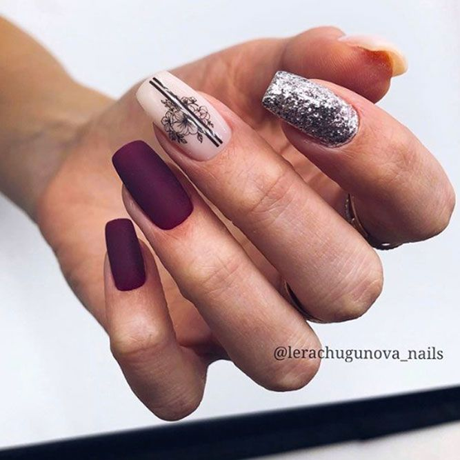 Beauty Burgundy Design
