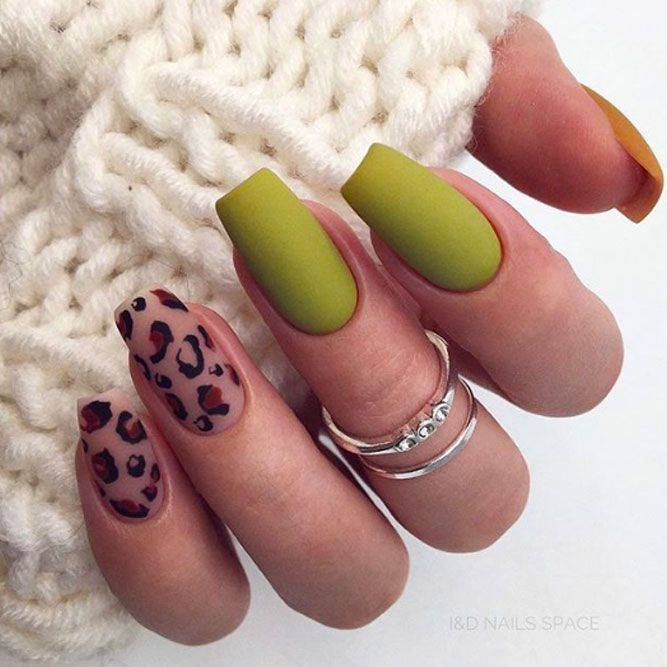 Matte Nails For Business Ladies