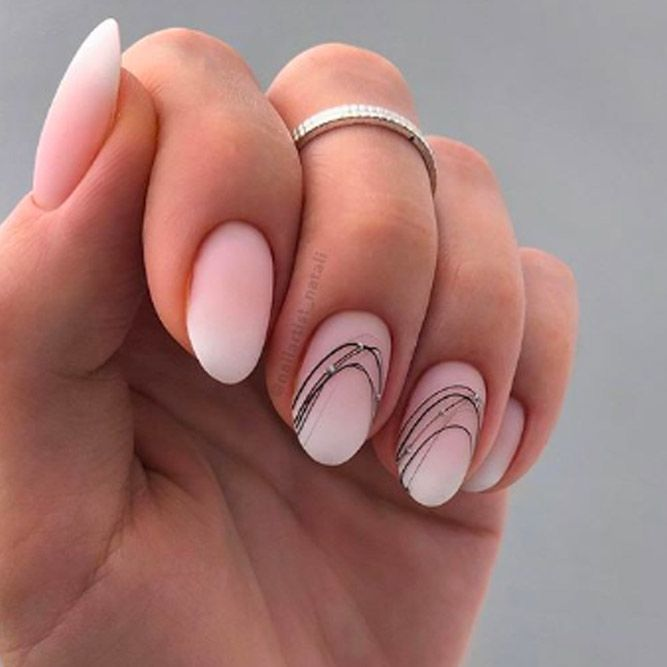 Nude Matte Nails For Business Ladies