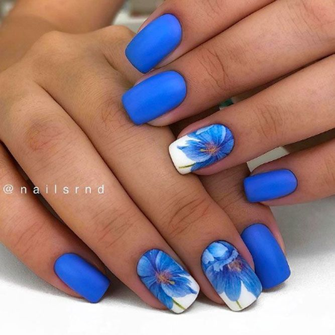 Flowers Nail Art For Any Occasion