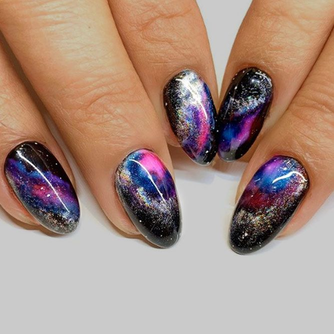 Magical Galaxy Nails
