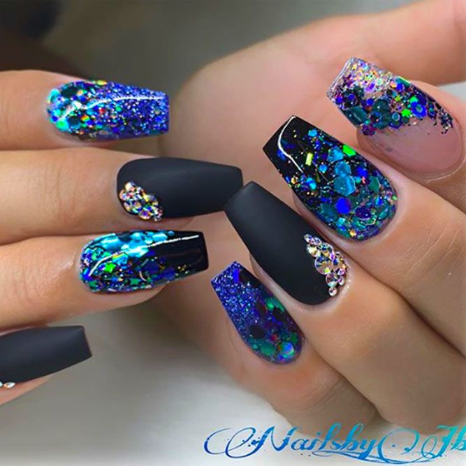 Black Nail Color