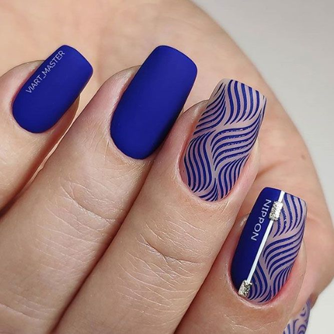 Intricate Stamping Design For Nails