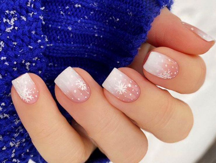 Best Tutorials on Snowflake Nails Designs