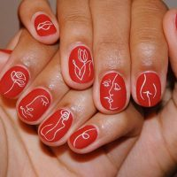 gorgeous red nail designs  naildesignsjournal