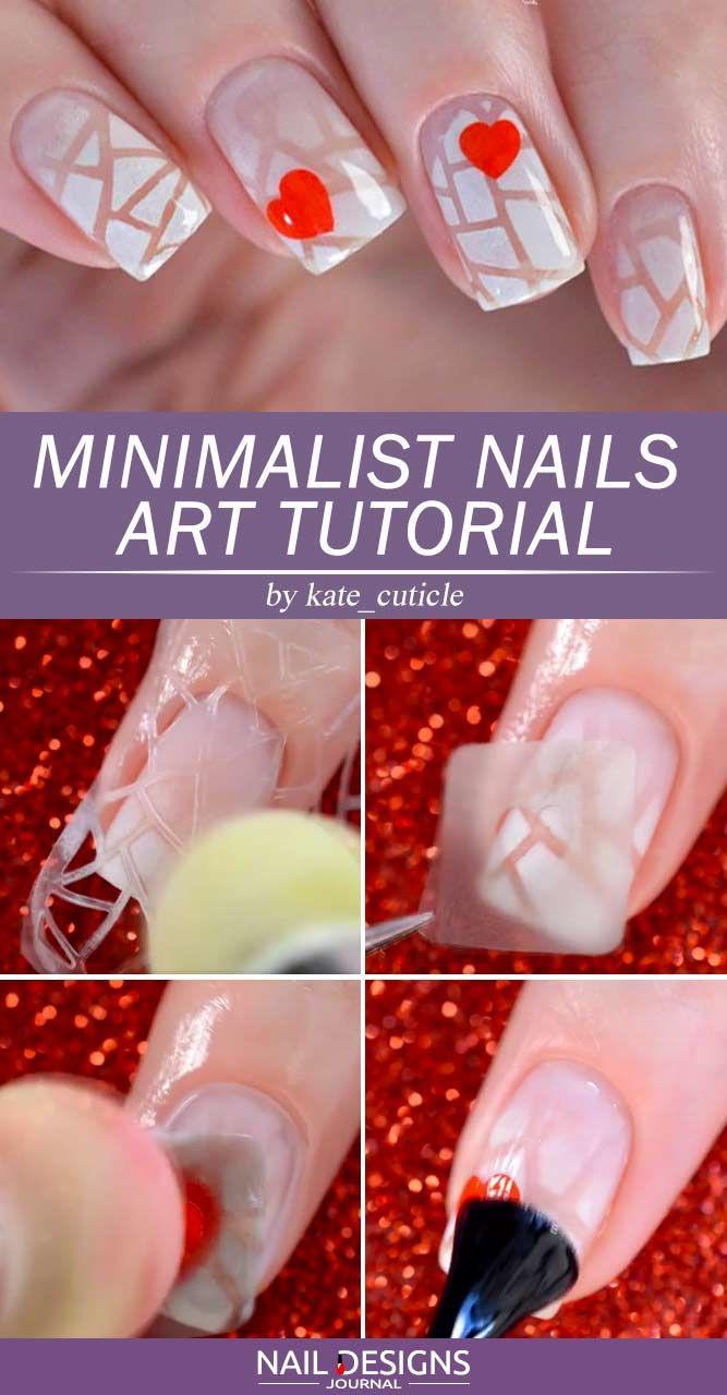 Minimalist Nails Art Tutorial