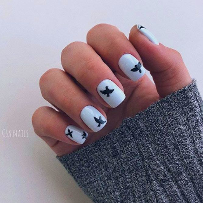 Sweet Birds On Your Nails