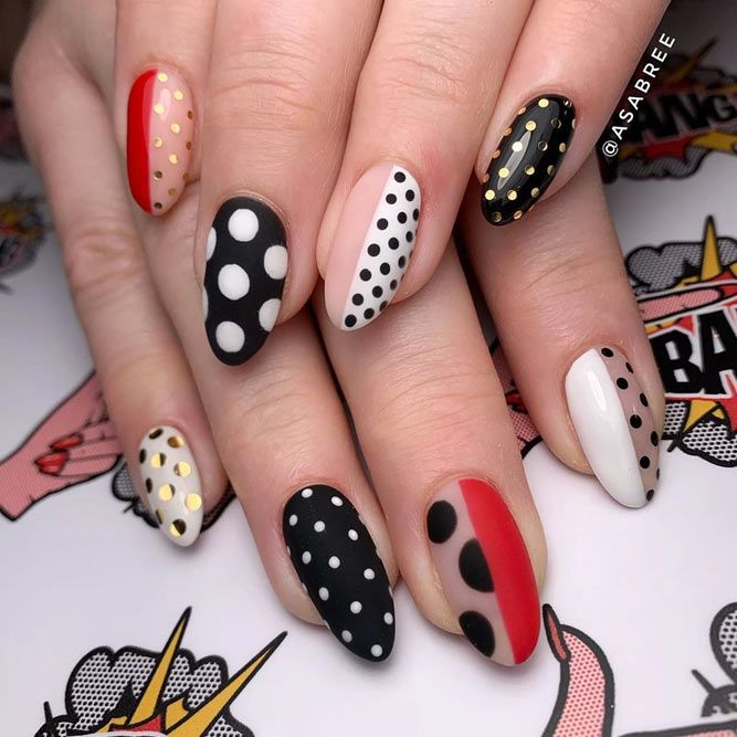 Fun Dots For Decoration Your Spring Nails