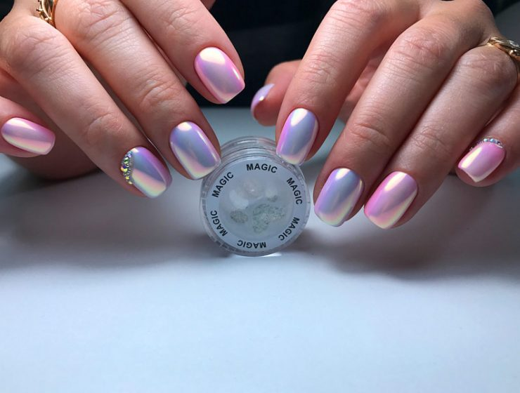 Chrome Nail Polish The Insane New Trend