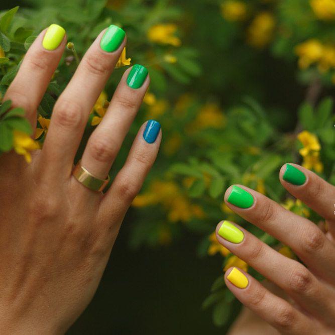 Neon Summer Nail Colors