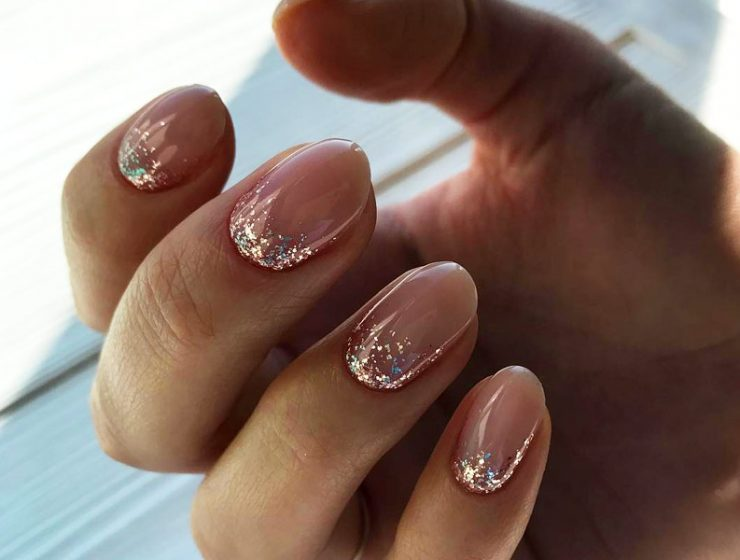 Ombre Glitter Nails Designs To Make Your Look Shiny
