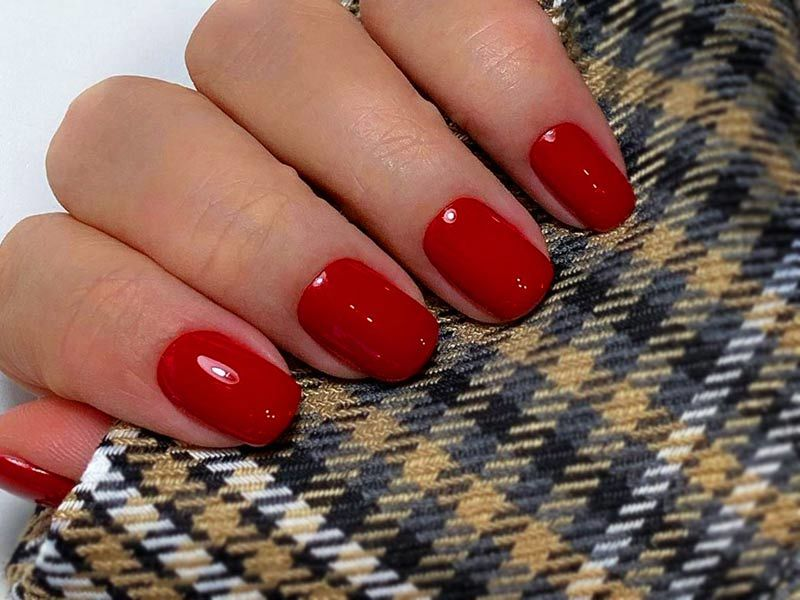 Red Acrylic Nails Designs: The Best Images, Creative Ideas