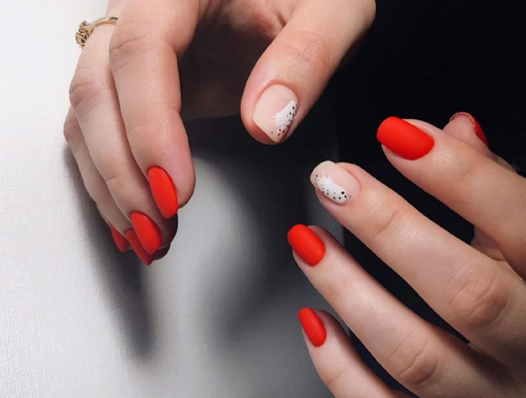 Stylish Red Nail Designs To Try Right Now