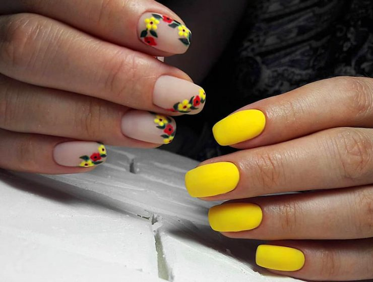 Sunny Shades Of Yellow Nails You Can Try