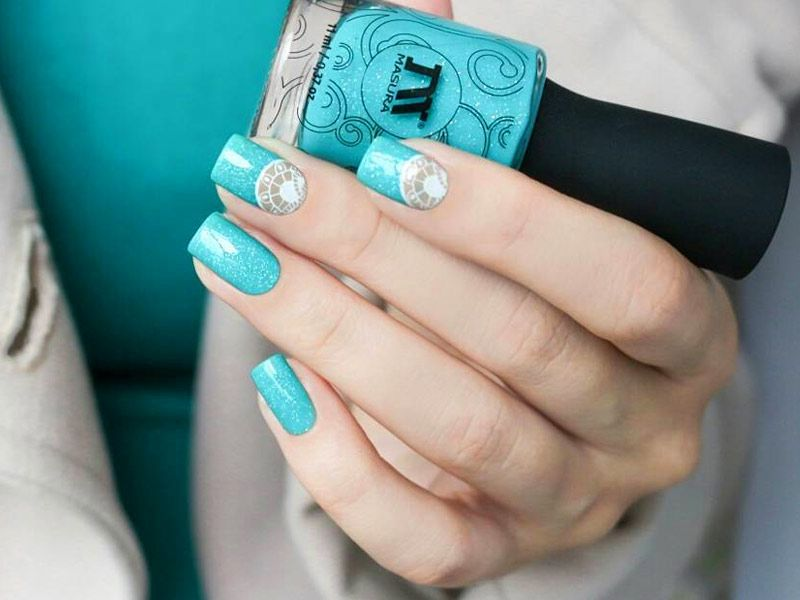 Amazing Aqua Nails Designs You'll Want To Try Right Now