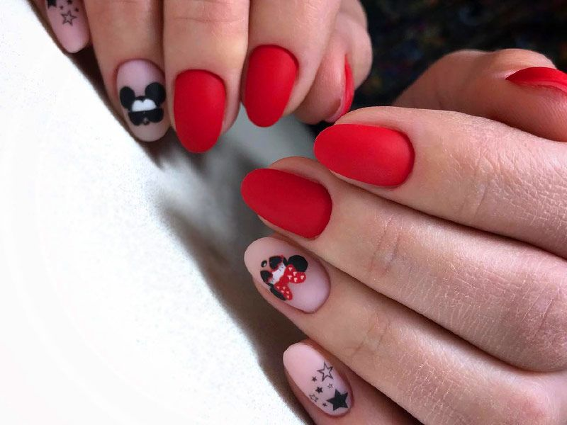 Inspiring Disney Nails Ideas For You To Try