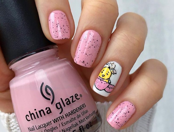 Amazing Designs Of Easter Nails For Your Inspiration