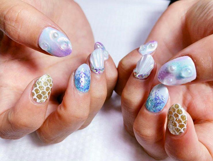 Fabulous Mermaid Nails Ideas