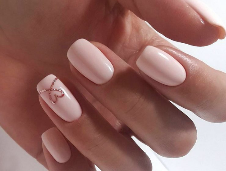 Happy Valentines Day Nails