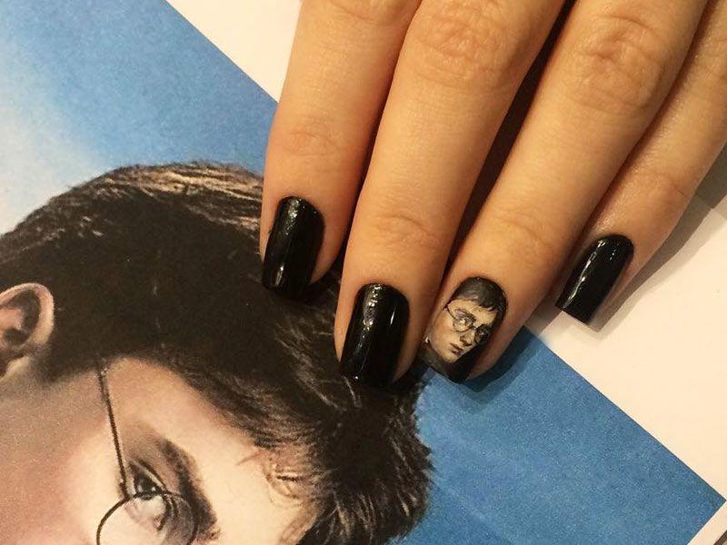 Best Harry Potter Fan Art Nails: Put A Spell On Your Manicure
