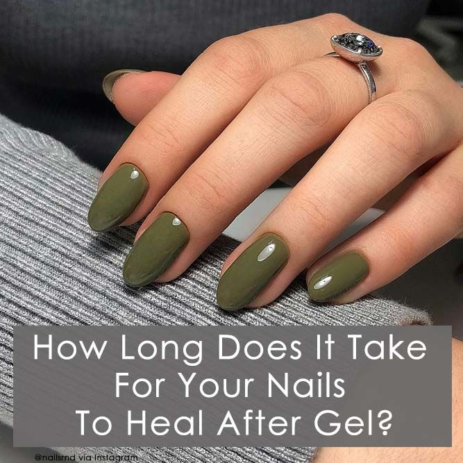 How Long Does It Take For Your Nails To Heal After Gel