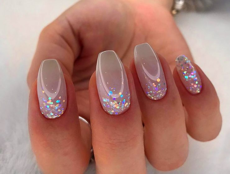 Ideas Of Glitter Ombre Nails