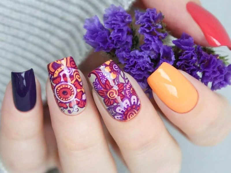 Mandala Designs Nails To Take Everyday Nail Art To The Whole New Level