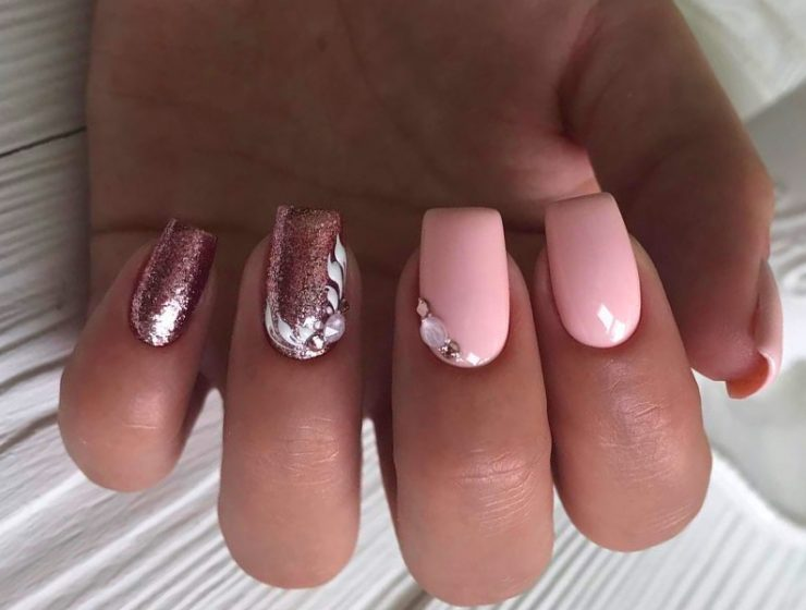 Cute Nude Pink Nails to Follow Trends This Season
