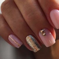 chic pink and gold nails designs  naildesignsjournal