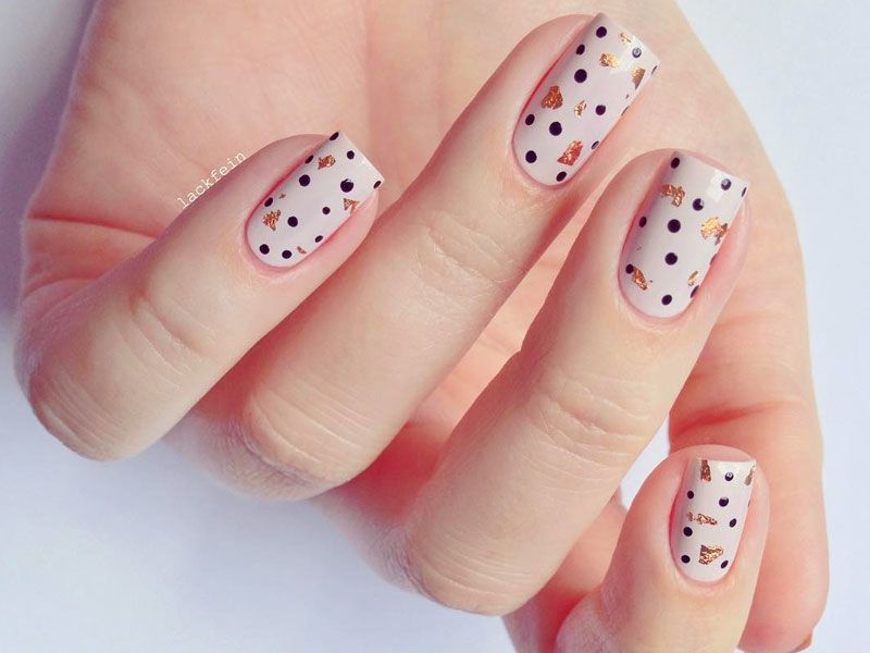 Bright And Trendy Polka Dots To Refresh Your Nails