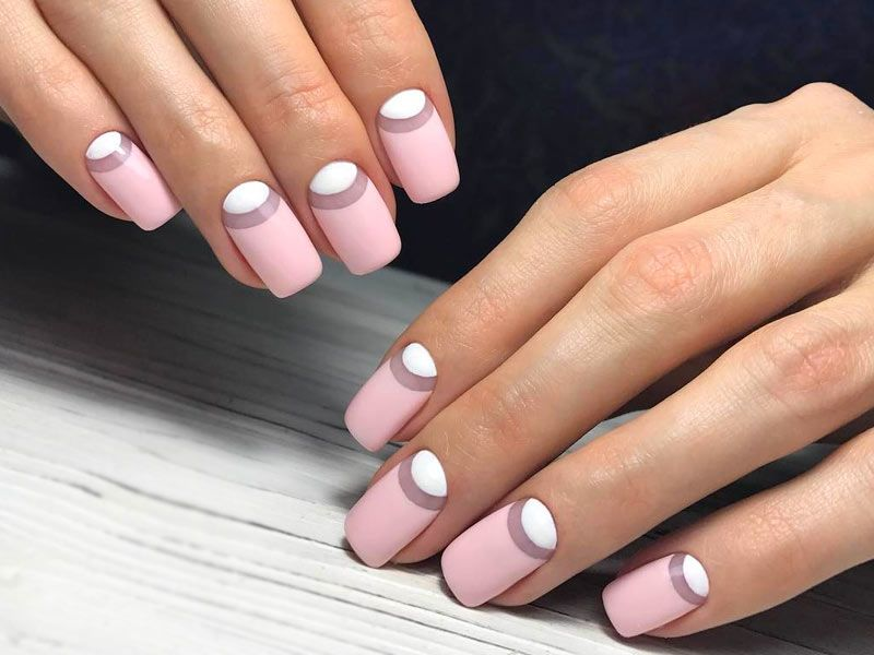 Reverse French Manicure to Freshen Up Your Image