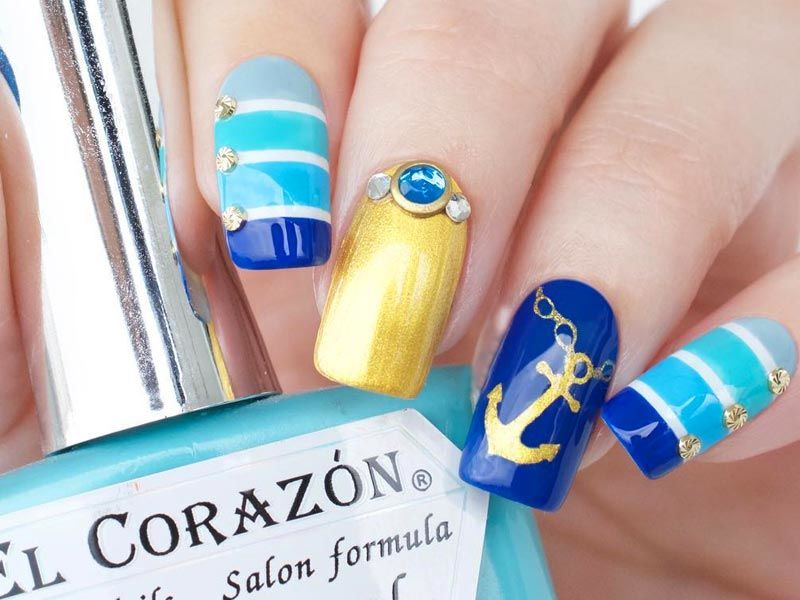 Hot Nails Designs for Epic Spring Break