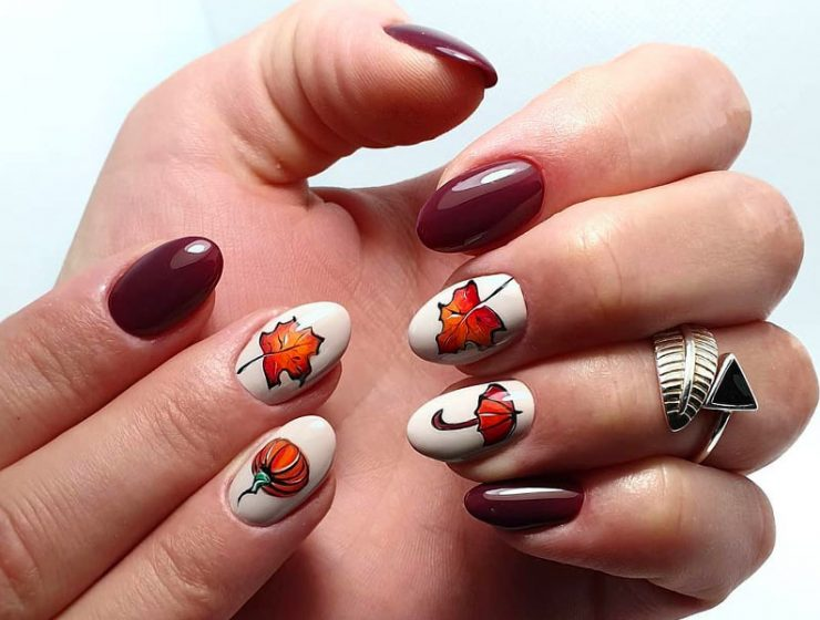 Creative Thanksgiving Nails Designs That Will Inspire You
