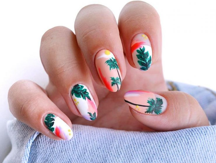 Cool Tropical Nails Designs For Summer