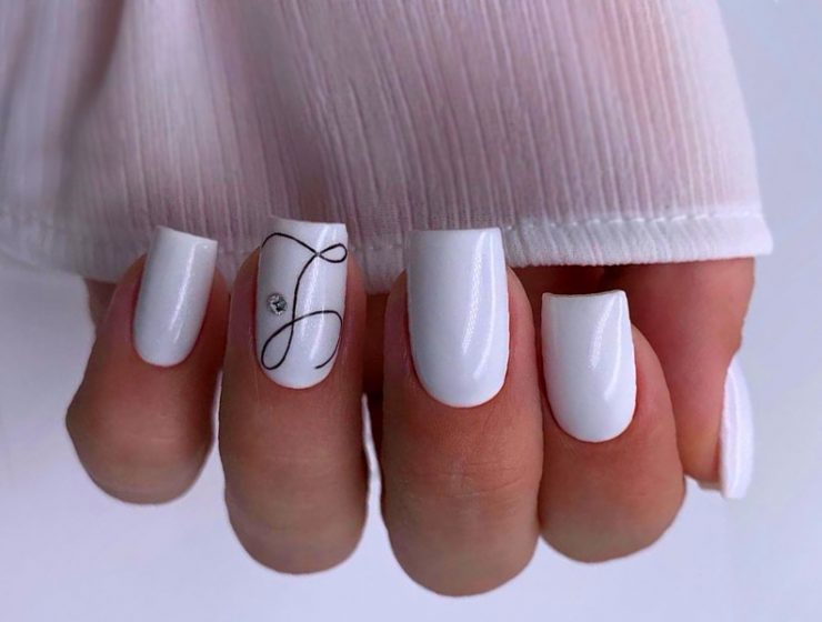 Ideas Of White Nails Designs To Embrace Your Beauty