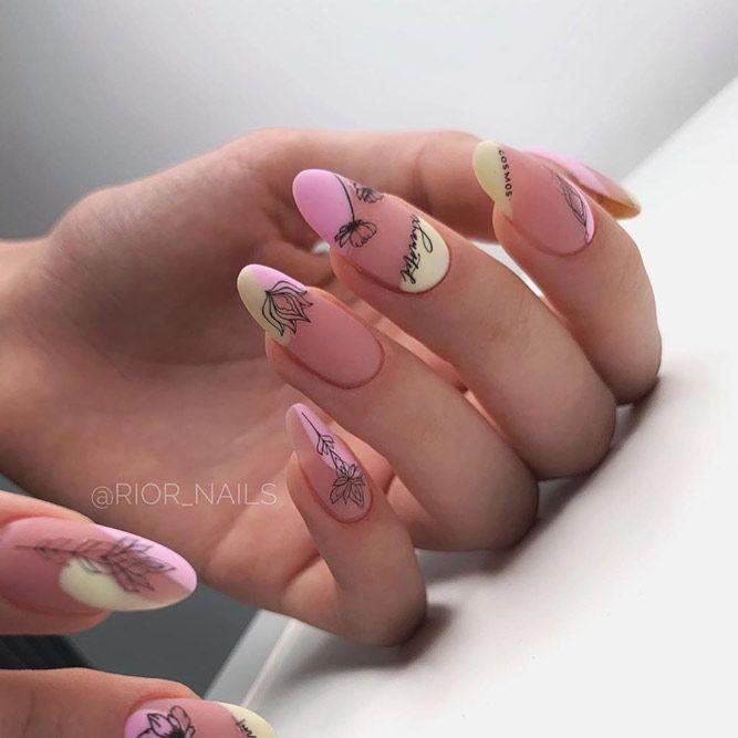 Nice Nude Matte Long Nails