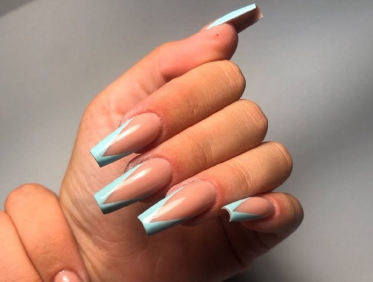 Perfect Coffin Acrylic Nails Designs To Sport This Season