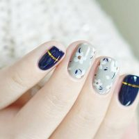 very easy nail designs for short nails