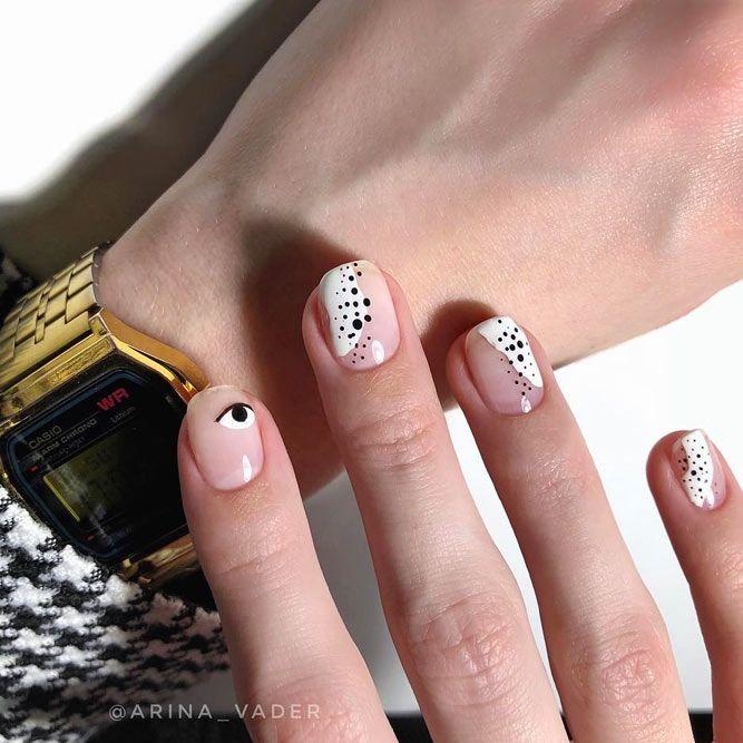 Elegant White Nail Polish For Summer