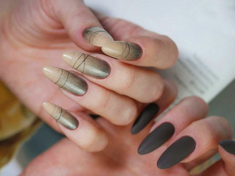 Types Of Nail Brush and Tips How To Use Them