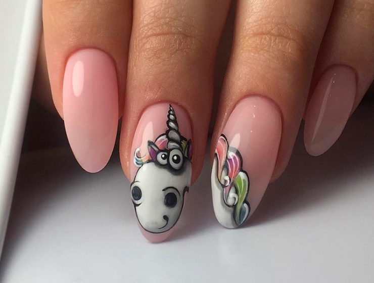 Inspirational Unicorn Nail Designs You'll Fall Loving With
